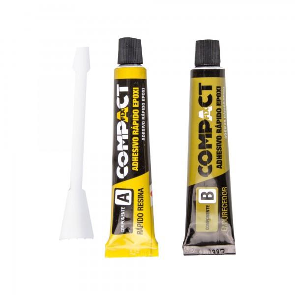Adhesivo epoxi compact 8ml+8ml.